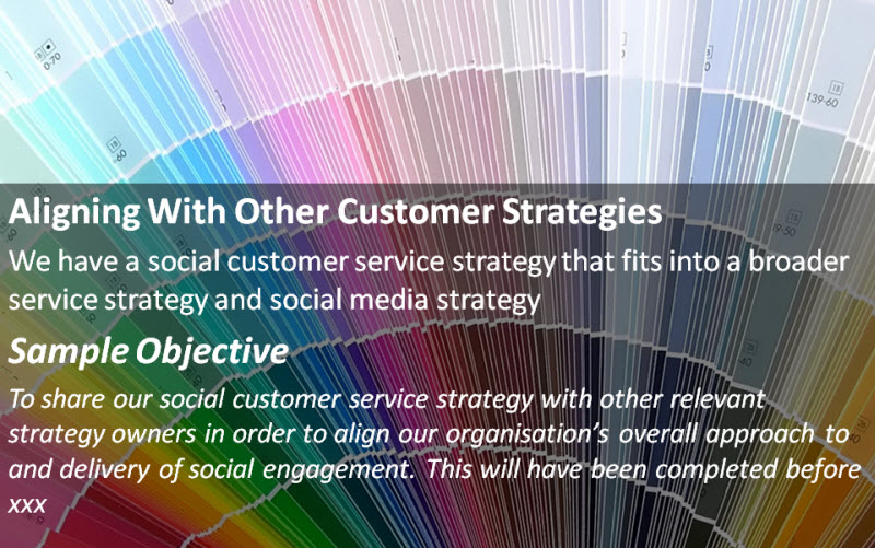 Aligning With Other Customer Strategies