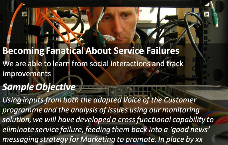 Social Customer Service: Becoming Fanatical About Service Failures