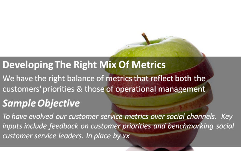 Social Customer Service: Developing The Right Mix Of Metrics