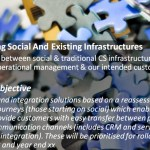 Social Customer Service: Integrating Social And Existing Infrastructures