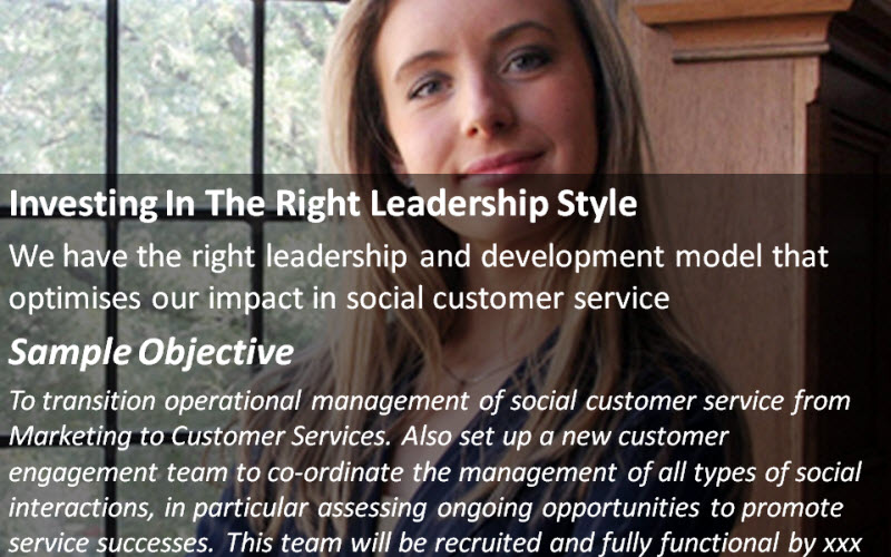 Social Customer Service: Investing In The Right Leadership Style