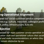 Social Customer Service: Maintaining Operational Alignment