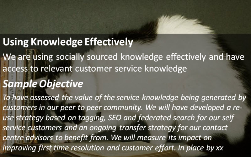 Social Customer Service: Using Knowledge Effectively