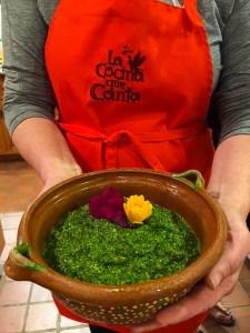 cilantro-chutney-cooking-class-alzheimer's-prevention|brainworkskitchen.com