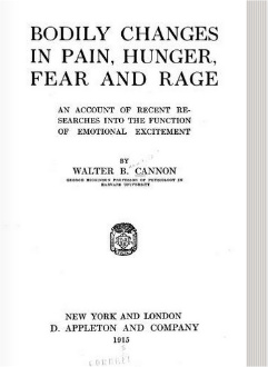 Bodily Changes Pain Hunger Fear Rage Original