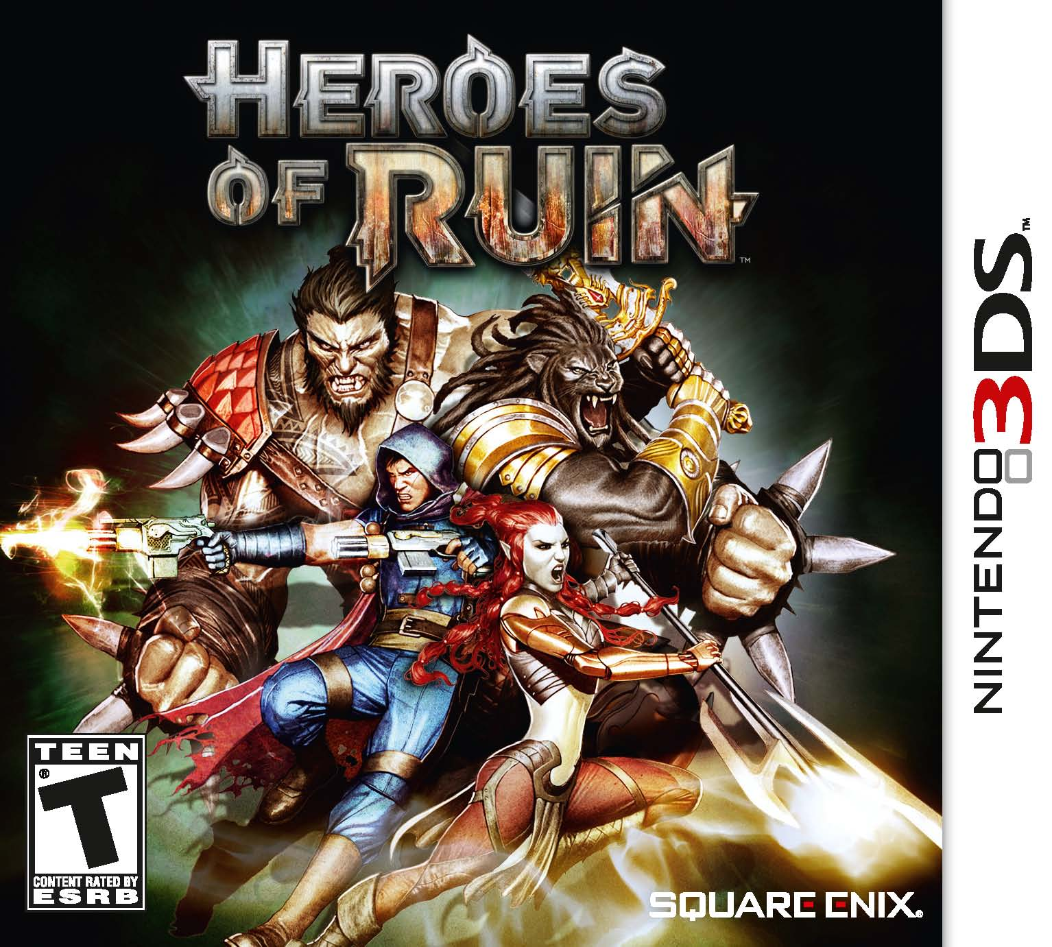 Heroes of Ruin Cover Art