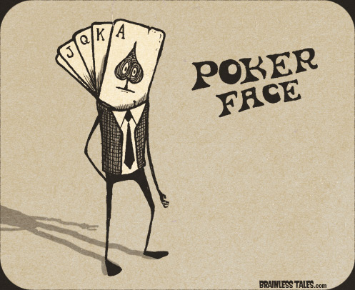 Image result for poker face