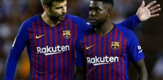 Barcelona Defender Samuel Umtiti Tests Positive For COVID-19