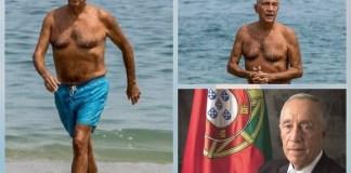 Portuguese President Marcelo Rescue Two Women At Sea