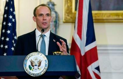 A Bodyguard To UK Foreign Minister Dominic Raab Suspended After He Left His Gun On Plane