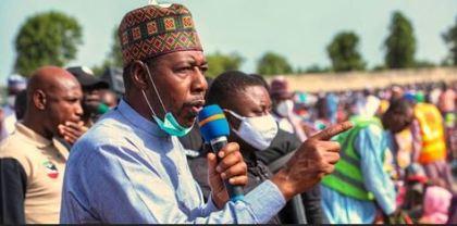 Again, Boko Haram Terrorists Open Fire On Borno Governor's Convoy, Kills 15 People