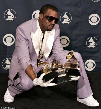 Kanye West Urinates On His Grammy Award, Says Universal And Sony Contracts Gives Him Problem