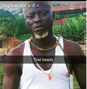 Nigerian Adult Star, Kingtblakhoc Arrested For Using Ifa Worshippers' Item To Shoot Porn Movie