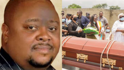 Photos From The Burial Of Music Executive, Former Manager Of P-Square Howie-T