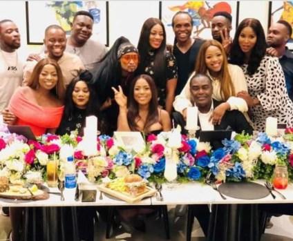 Photos, Video From The 40th Birthday Dinner Of Blogger Linda Ikeji