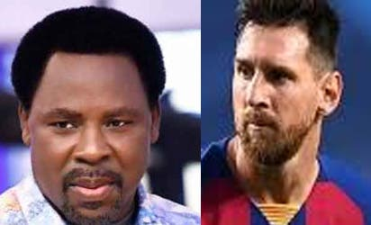 Prophet T.B. Joshua Tells Lionel Messi Not To Leave Barcelona With Bitterness