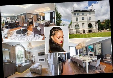 See The Stunning London Mansion Rihanna Wants To Sale For £32 Million