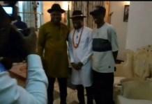 Bayelsa State Gov Duoye Diri Receives BBNaija Star TrikyTee At The State Govt House