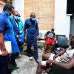 Gov Babajide Sanwo-Olu Visits Injured #EndSARS Protesters After Army Fired At Them