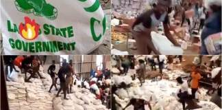 Lagos Govt Reacts To Viral Videos Of Looted COVID-19 Palliatives