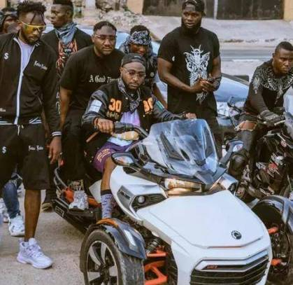 Meet The Man That Always Follows Davido Anywhere He Goes
