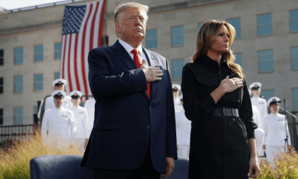 U.S. President Donald Trump And First Lady Melania Contract Coronavirus