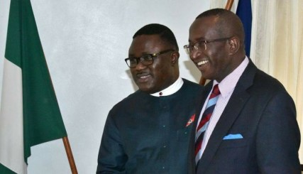 Gov Ayade Condoles With Sen. Ndoma-Egba