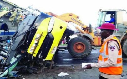 Many feared dead as tanker, bus collide in Anambra