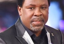 Prophet TB Joshua Reveals Winner Of Presidential Election