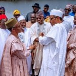 36 Governors To Meet President Buhari