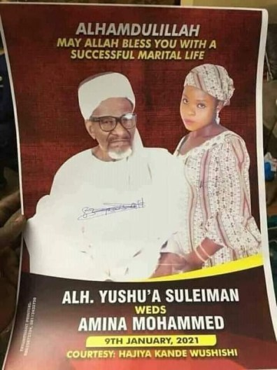83-Year-Old Nigerian Man To Marry 16-Year-Old Girl