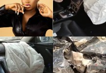 BBNaija Star Cindy Okafor Survives Car Accident On Her Birthday
