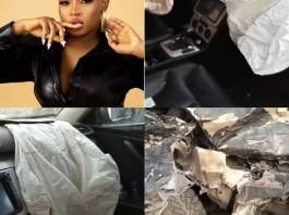 BBNaija Star Cindy Okafor Survives Car Accident On Her Birthday