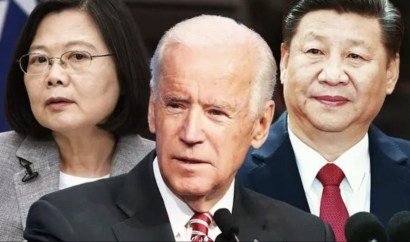 China Warns Taiwan Independence 'Means War' As United States Pledges Support
