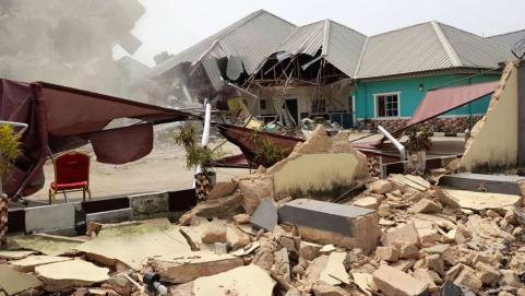 Cross River Govt Demolishes Hotel Harbouring Suspected Kidnappers