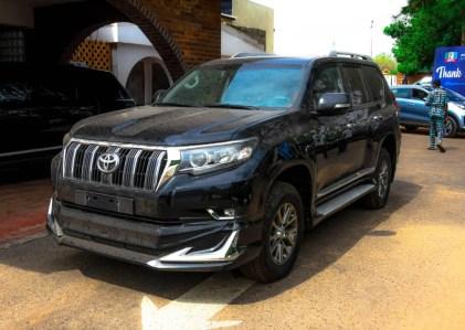 Gov Akeredolu Presents 2020 Prado SUV And Toyota Hilux To Ondo Deputy Speaker