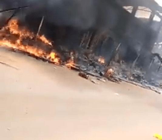 Heavy Gunfire As Soldiers And ESN Clash In Orlu, Imo