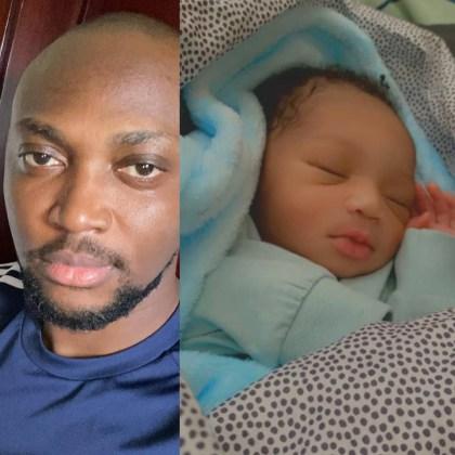 Nigerian Singer Vast Welcomes Baby Boy