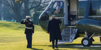 No Red Carpet For Trump On Way Out Of White House - Pentagon