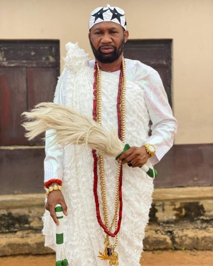 Nollywood Actor Omogoriola Hassan Crown King Of Uba Land