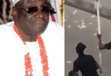 Oba Of Lagos Returns To His Palace 2-Month After Mob Invaded His Palace