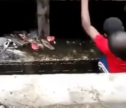 Residents Discover Tunnel Used By Suspected Kidnappers, Ritualists, Kill Suspect In Lagos