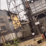 Transformer Explodes And Catches Fire In Lagos