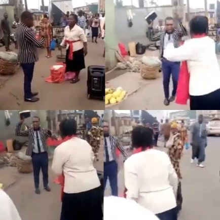 Two Preachers Fight Over Preaching Space In Lagos