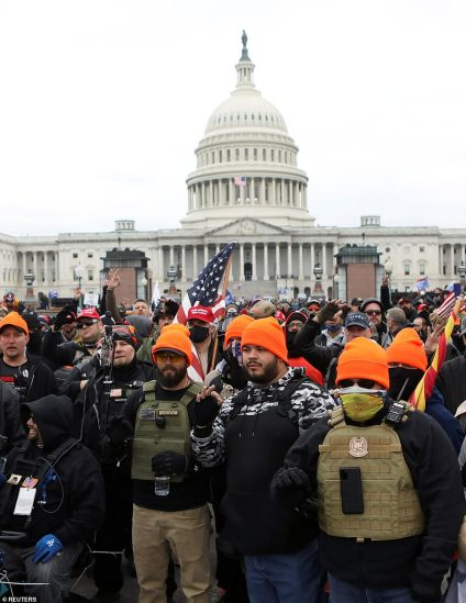 United States Congress Under Siege, As President Trump Supporters Overrun Security