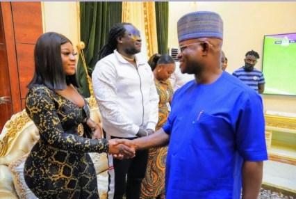 Actress Uche Elendu Defends Destiny Etiko Over Outfit She Wore To Visit Gov Yahaya Bello