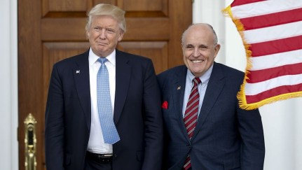 NAACP sues Trump and Giuliani over US Capitol attack