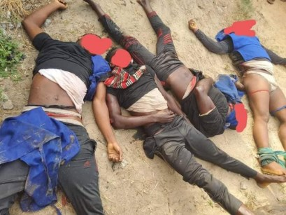 4 Suspected Sea Pirates Killed In Gun Battle With Marine Police In Akwa Ibom State