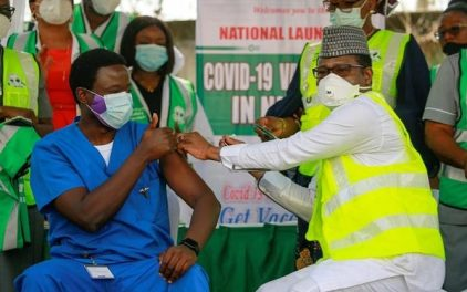 638,291 Persons Vaccinated So Far - Federal Govt