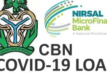CBN Reopens N50bn COVID Loan Portal For Households, Businesses